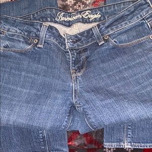 American Eagle 4 Long 77 Straight jeans Blue Jeans